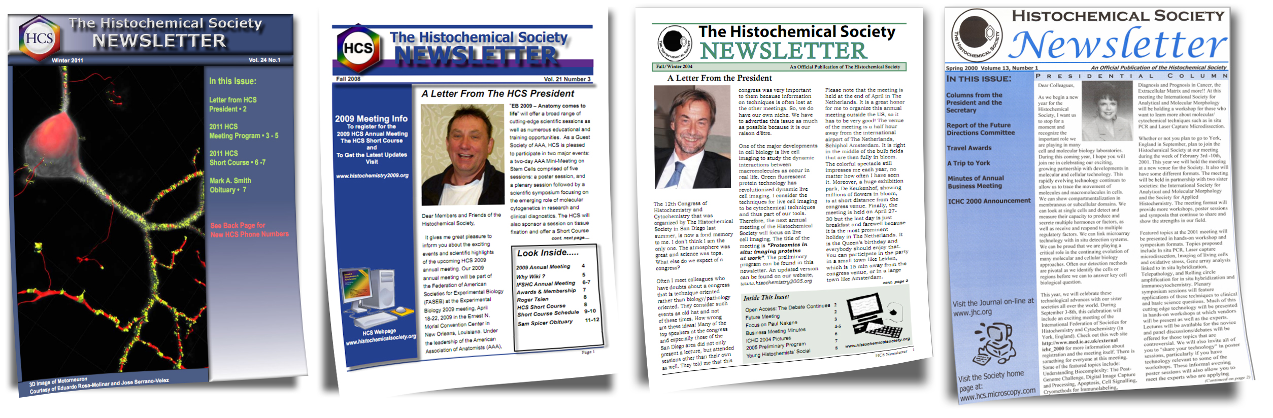 Histochemical Society Newsletters